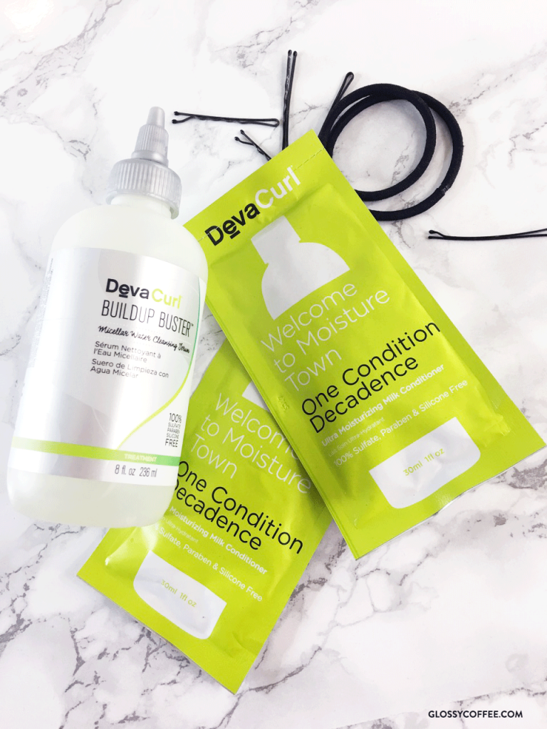 DevaCurl Buildup Buster Micellar Water Cleansing Serum Glossycoffee