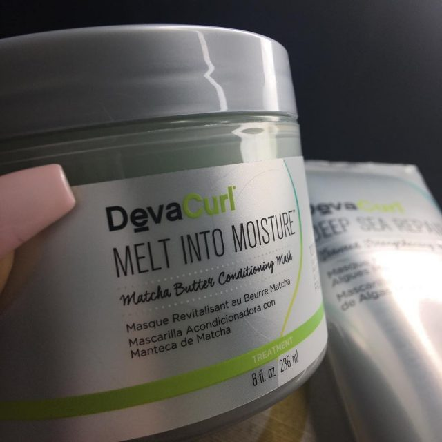 Its wash day So Im using the DevaCurl Melt Intohellip